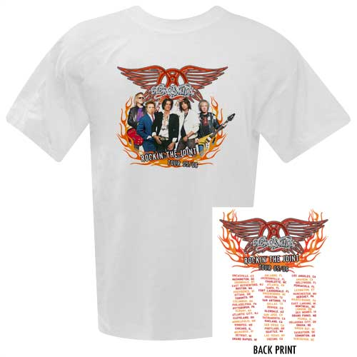 Aerosmith '05/'06  Tour Tee