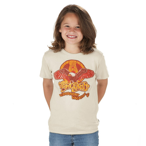 Aerosmith P. Vacation Kids Tee