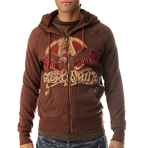 Aerosmith 1987 Mens Zip Hoody