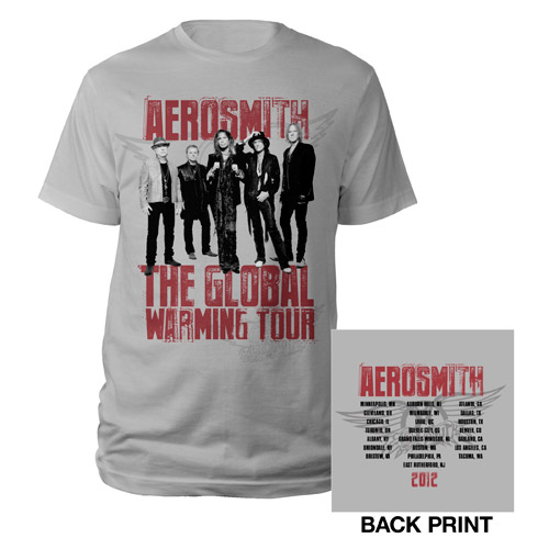 2012 Global Warming Tour Tee