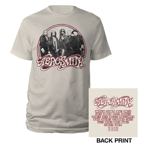 2012 Band Photo Tour Tee