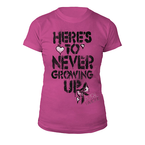 Here's To Never Growing Up Tee