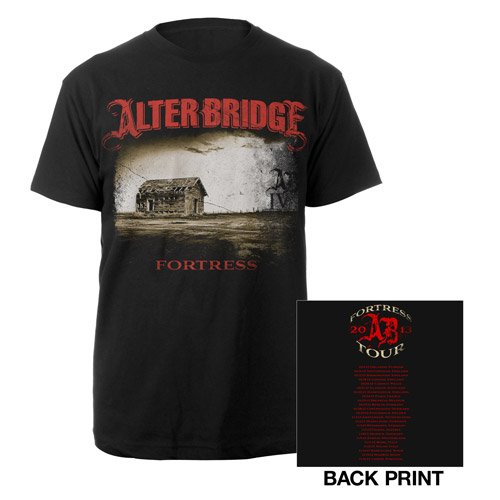 Fortress Album Cover Tour Tee