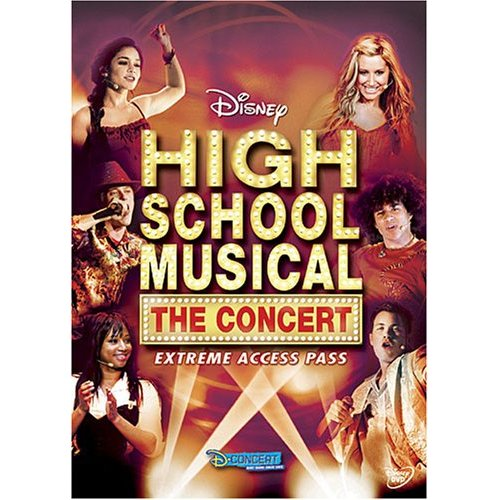 High School Musical, The Concert - Extreme Access Pass (2007) [DVD]
