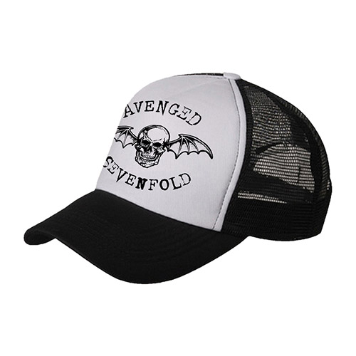 Black/White Trucker Hat