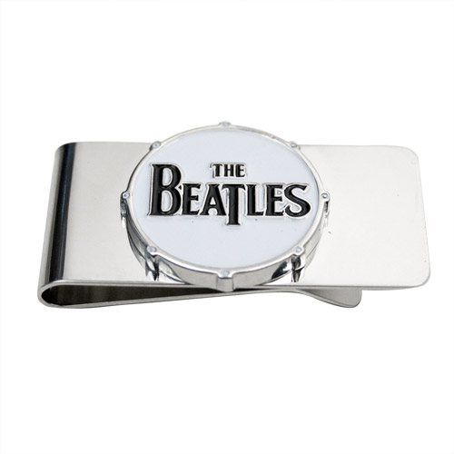 The Beatles Logo Drum Money Clip