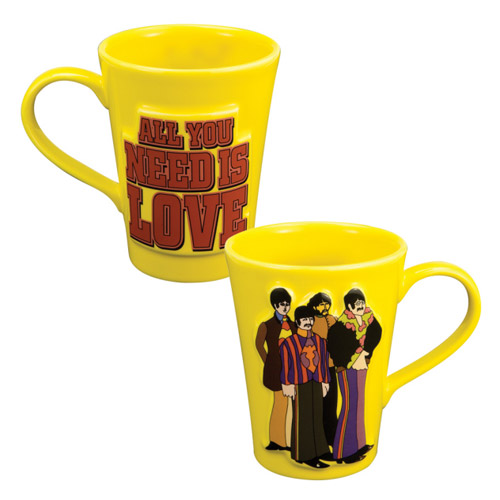Beatles Yellow Mug