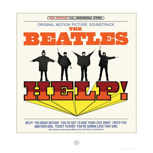 Help! Album Cover Lithograph