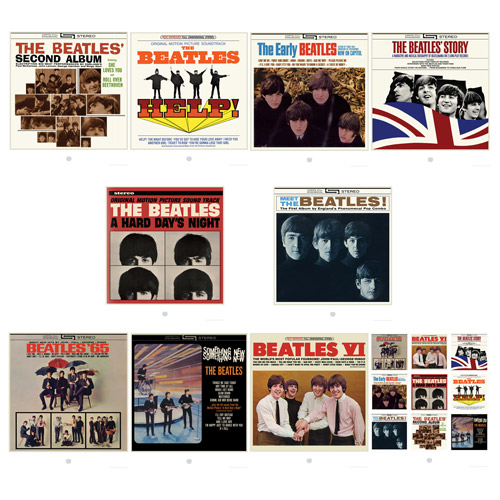 1 Album Cover Beatles. Album Cover Lithograph