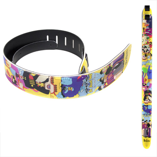 Yellow Submarine Guitar Strap