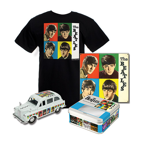 'The Beatles' Limited Edition Taxi Tin