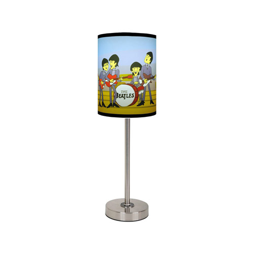 The Beatles Cartoon Lamp Shade and Base