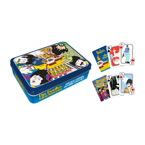 Yellow Submarine Playing Card Tin