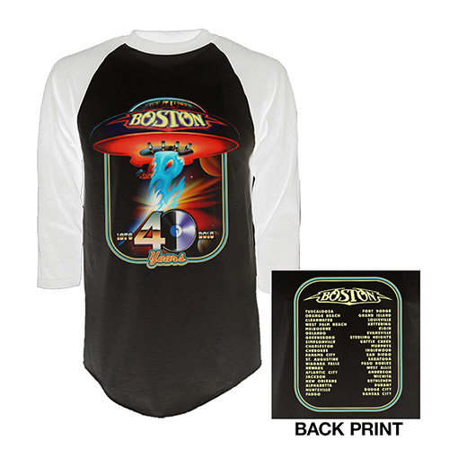 40th Anniversary Raglan T-Shirt