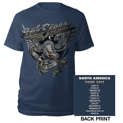 Navy 2011 Night Moves Tour Tee