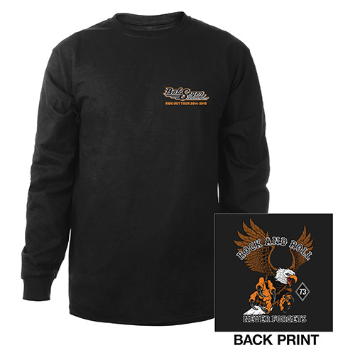 Rock and Roll Never Forgets Long Sleeve Shirt