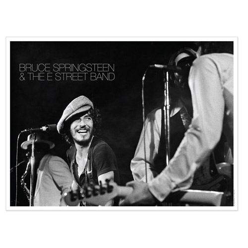 Exclusive Lithographic Print - Bruce Springsteen &amp; The E Street Band Live At The Bottom Line In NYC, 1975 (1-500)