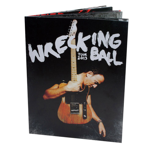 New - Bruce Springsteen 2013 Wrecking Ball Tour Program