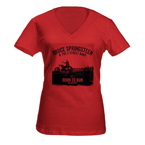 Women's Springsteen Heathered V-Neck