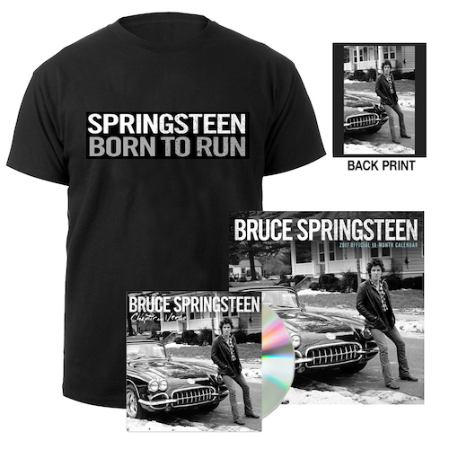 Chapter & Verse CD + Born To Run Tee + Calendar Bundle
