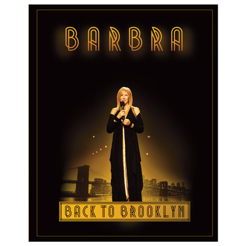 Barbra Streisand Tour Program