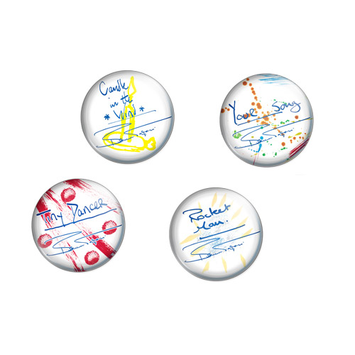 Song Titles Button Pack