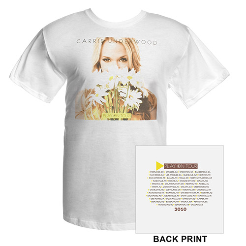 Official Play On Tour Daisy Photo Tee