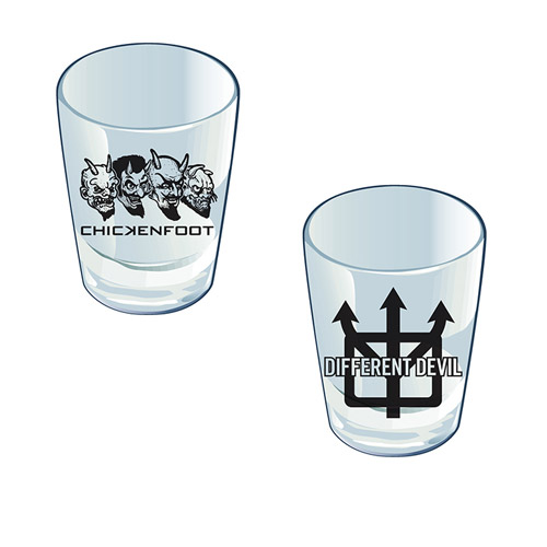 Different Devil Shot Glass