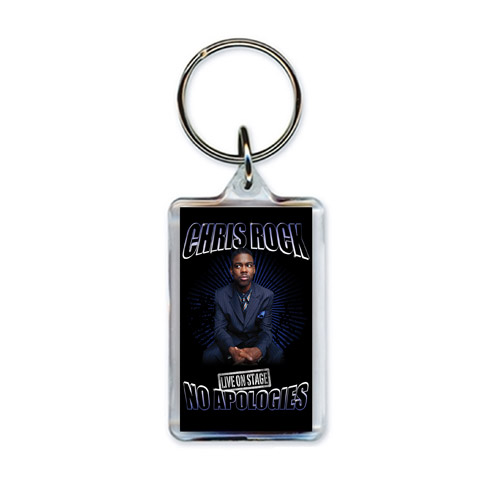 Official Chris Rock No Apologies Tour Keychain