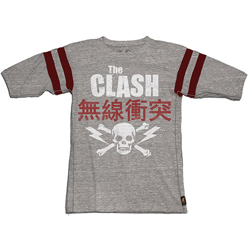 The Clash Hocket Burnout Tee