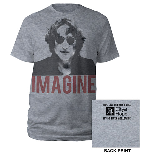 John Lennon City Of Hope Tee