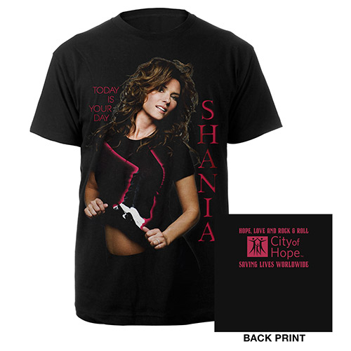 Shania Twain City Of Hope Tee