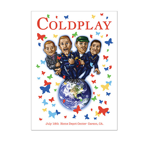 Coldplay Tour Dates 2011 Announced