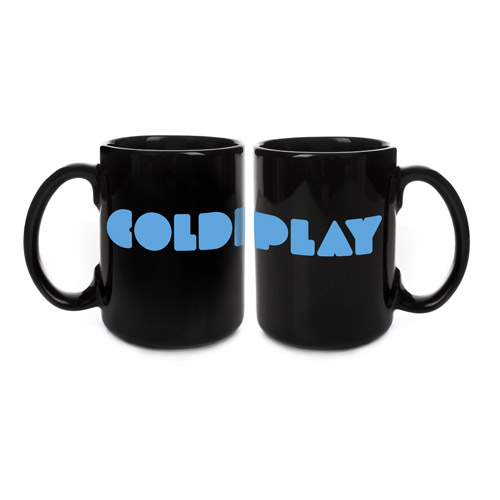 Coldplay Black Logo Mug