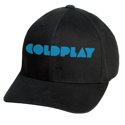 Coldplay Black Logo Cap