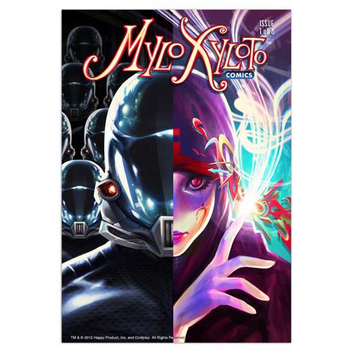 Mylo Xyloto Comic Series (Six issues)