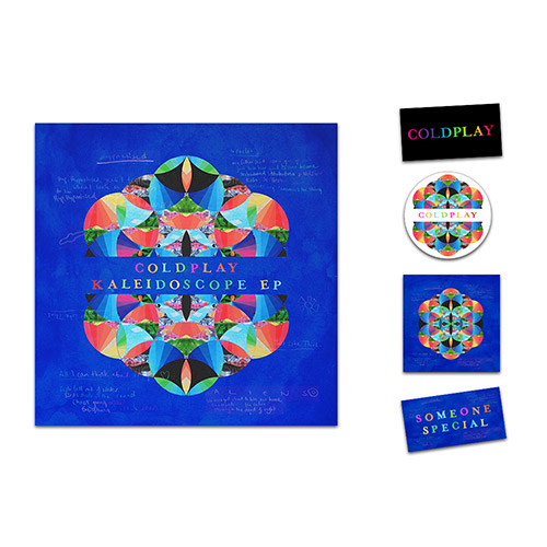 Coldplay Kaleidoscope EP CD
