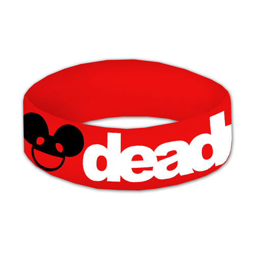 Red deadmau5 Wristband