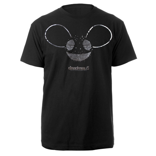 deadmau5 Silver Foil Logo Tee