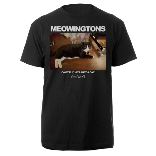 deadmau5 Meowingtons Can't Fly Tee