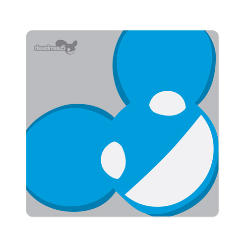 deadmau5 Blue Logo Mousepad