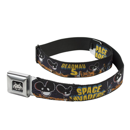 deadmau5 Space Invaders Space Heads Belt