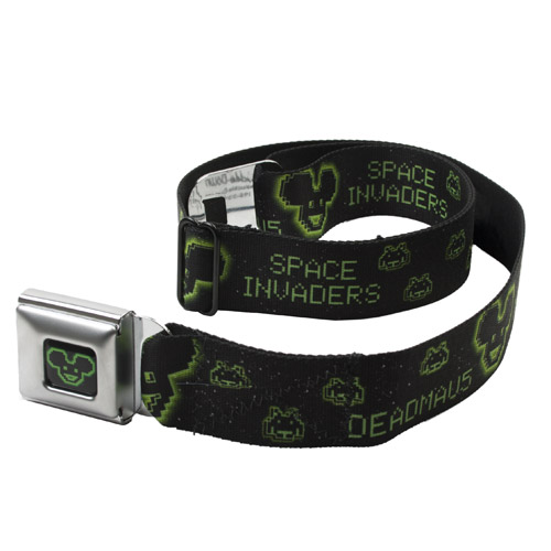 deadmau5 Space Invaders Icons Belt