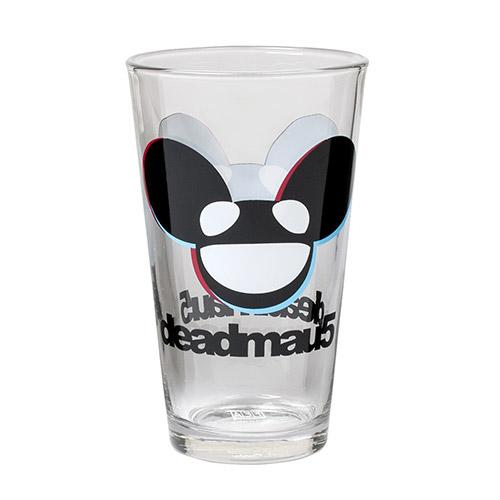 deadmau5 mau5head Logo Pint Glass