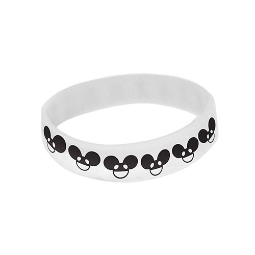 deadmau5 White Mau5head Wristband
