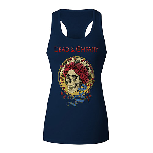 Dead & Company Crown Roses Ladies Tank