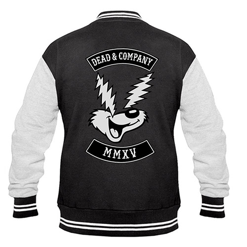 Electric Eyes Dead & Company Varsity Jacket