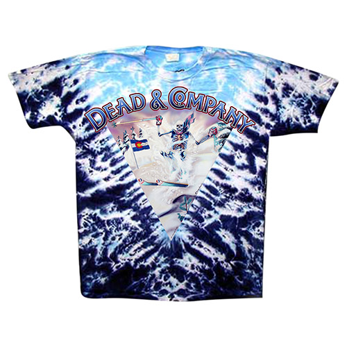 Tie Dye Purple Skiier Tee