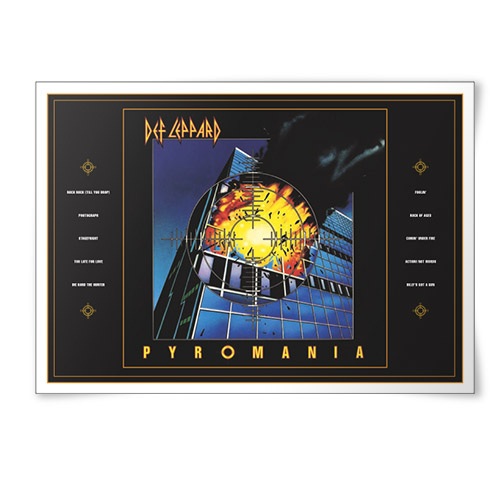 Exclusive - 'Pyromania' Lithographic Print* - Limited Collector's Edition 1/500