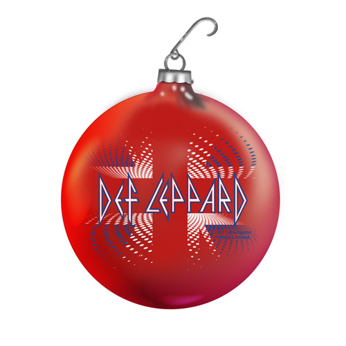 Exclusive - Def Leppard Union Jack Holiday Ornament